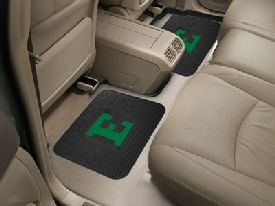 Eastern Michigan Backseat Utility Mats 2 Pack 14x17
