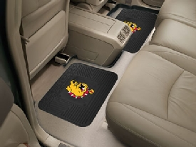 Ferris State Backseat Utility Mats 2 Pack 14x17