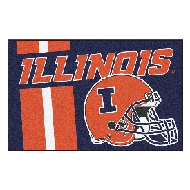 Illinois Uniform Inspired Starter Rug 19x30