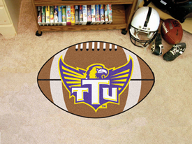 Tennessee Technological Football Rug 20.5x32.5