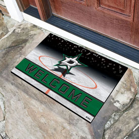 NHL - Dallas Stars 18x30 Crumb RubberDoor Mat