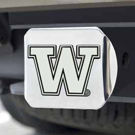 Washington Chrome Hitch Cover 4 1/2x3 3/8