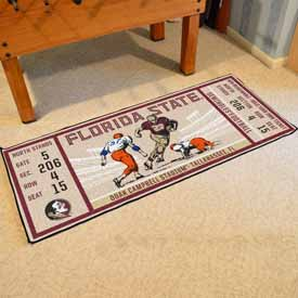 Florida State University Ticket Runner 30x72
