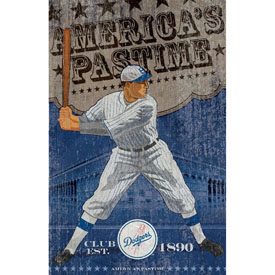 Los Angeles Dodgers Vintage Wall Art