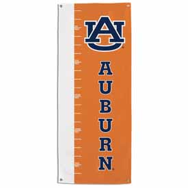 Auburn Tigers Growth Chart Banner