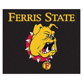 Ferris State Tailgater Rug 60x72