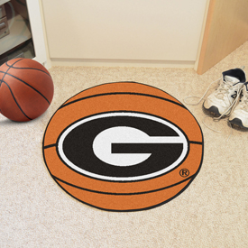 Georgia G Logo Basketball Mat 27 diameter