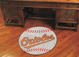 MLB - Baltimore Orioles Baseball Mat 27 diameter