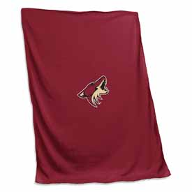 Arizona Coyotes Sweatshirt Blanket