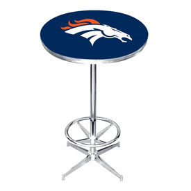 Denver Broncos Pub Table