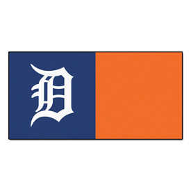 MLB - Detroit Tigers Carpet Tiles 18x18 tiles