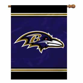 "Baltimore Ravens House Banner 28"" x 40"" 1- Sided"
