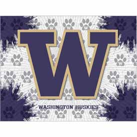 Washington Logo Canvas by Holland Bar Stool Company