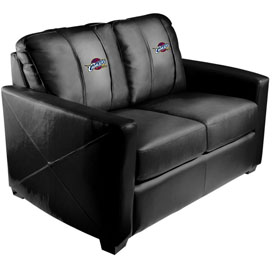 Cleveland Cavaliers NBA Xcalibur Love Seat with Global Logo Panel