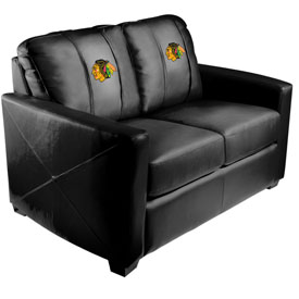 Chicago Blackhawks NHL Xcalibur Love Seat