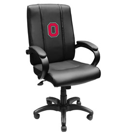 Ohio State University Collegiate Office Chair 1000 with Buckeyes Block O logo