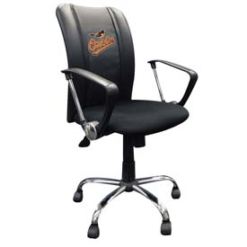 Baltimore Orioles MLB Curve Task Chair