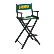 Green Bay Packers Bar Height Directors Chair