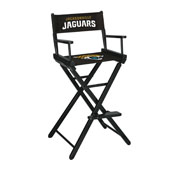 Jacksonville Jaguars Bar Height Directors Chair