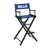 Buffalo Bills Bar Height Directors Chair