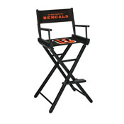Cincinnati Bengals Bar Height Directors Chair