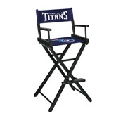 Tennessee Titans Bar Height Directors Chair