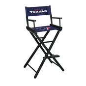 Houston Texans Bar Height Directors Chair