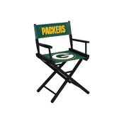 Green Bay Packers Table Height Directors Chair