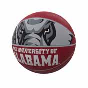 Alabama Mascot Official-Size Rubber Basketball