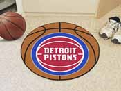 NBA - Detroit Pistons Basketball Mat 27 diameter