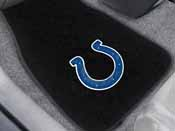 NFL - Indianapolis Colts 2-piece Embroidered Car Mats 18x27