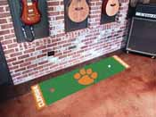 Clemson Putting Green Mat