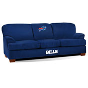 buffalo bills first team microfiber sofa