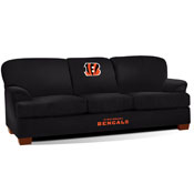 cincinnati bengals first team microfiber sofa