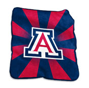 Arizona logo Raschel Throw