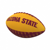 AZ State Repeating Mini-Size Rubber Football