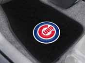 MLB - Chicago Cubs 2-piece Embroidered Car Mats 18x27