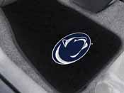Penn State 2-piece Embroidered Car Mats 18x27
