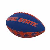 Boise State Repeating Mini-Size Rubber Football