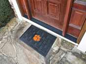 Clemson Medallion Door Mat