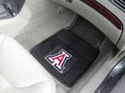 Arizona Wildcats Heavy Duty 2-Piece Vinyl Car Mats 17x27
