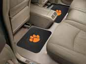 Clemson Backseat Utility Mats 2 Pack 14x17
