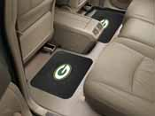 NFL - Green Bay Packers Backseat Utility Mats 2 Pack 14x17