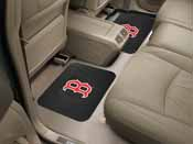 MLB - Boston Red Sox Backseat Utility Mats 2 Pack 14x17
