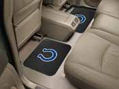 NFL - Indianapolis Colts Backseat Utility Mats 2 Pack 14x17