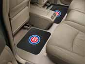 MLB - Chicago Cubs Backseat Utility Mats 2 Pack 14x17