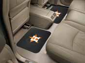 MLB - Houston Astros Backseat Utility Mats 2 Pack 14x17