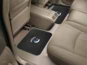 NHL - Vancouver Canucks Backseat Utility Mats 2 Pack 14x17