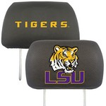 Louisiana State Head Rest Cover 10x13