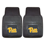 Pittsburgh 2-pc Vinyl Car Mat Set